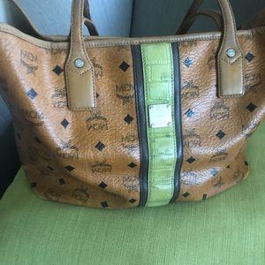Vintage Authentic MCM Tote Bag